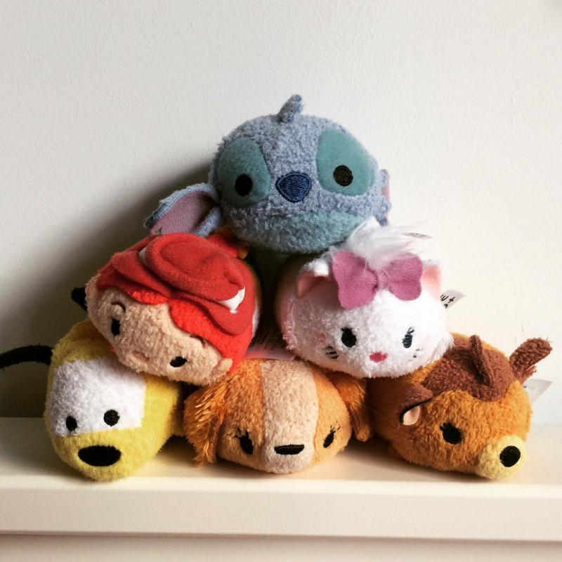 Addison is already building quite a collection of tsumtsums hellip