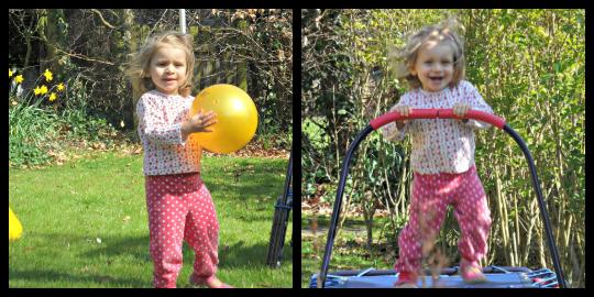 Addison in the Garden