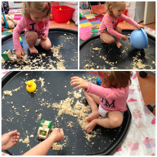 addison messy play