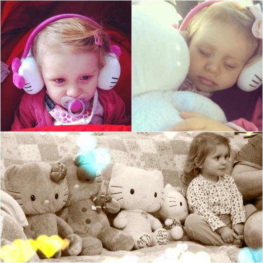 Addison loves Hello Kitty