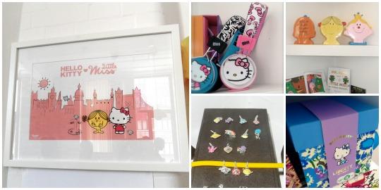 hello kitty and little miss merchandise