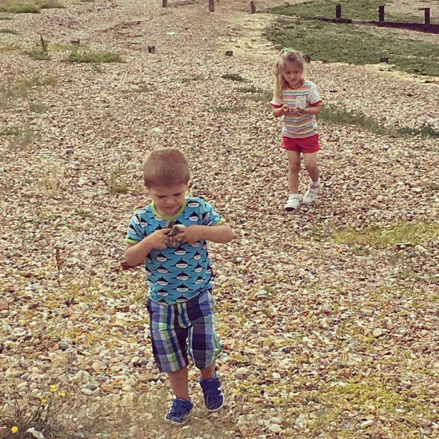 My little beachcombers They love collecting treasure Now to thinkhellip