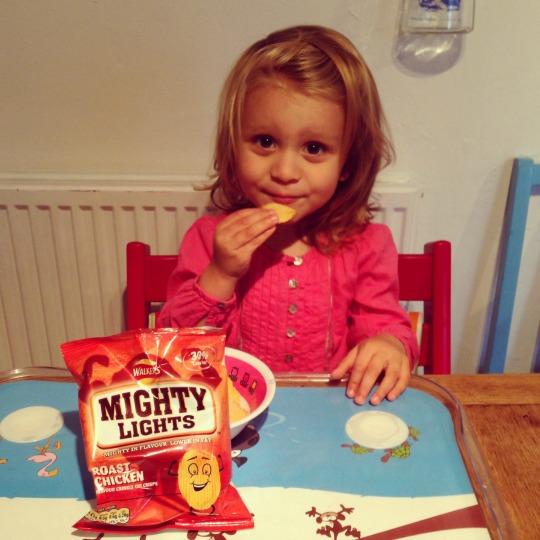 Addison enjoying mightylights