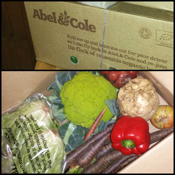 abel and cole veg box