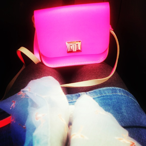 neon satchel