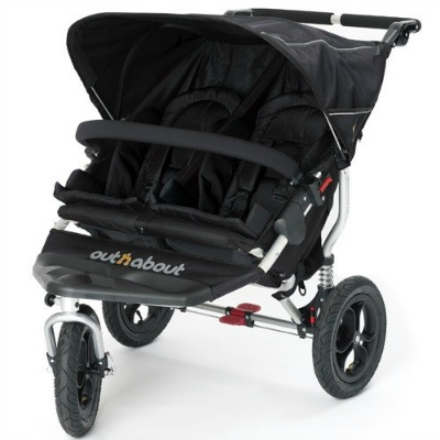 out n about double pushchair