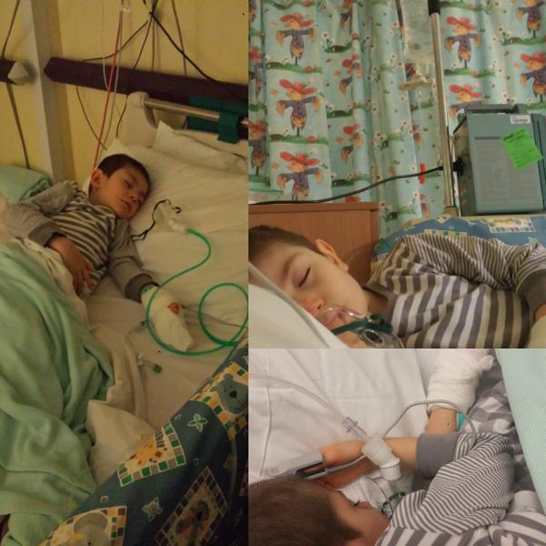 grayson in hospital