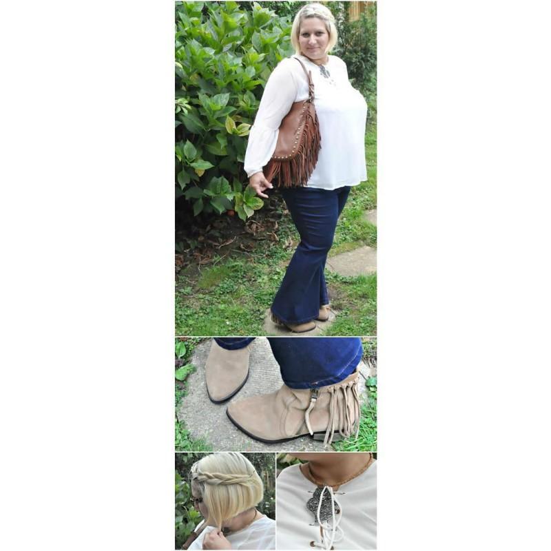 On the blog I am sharing my boho inspired outfitshellip