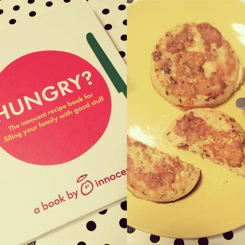 We received the Hungry book from innocentsmoothies yesterday amp theidealscenariohellip