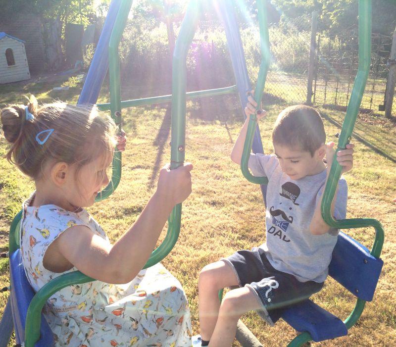 Grayson and Addison