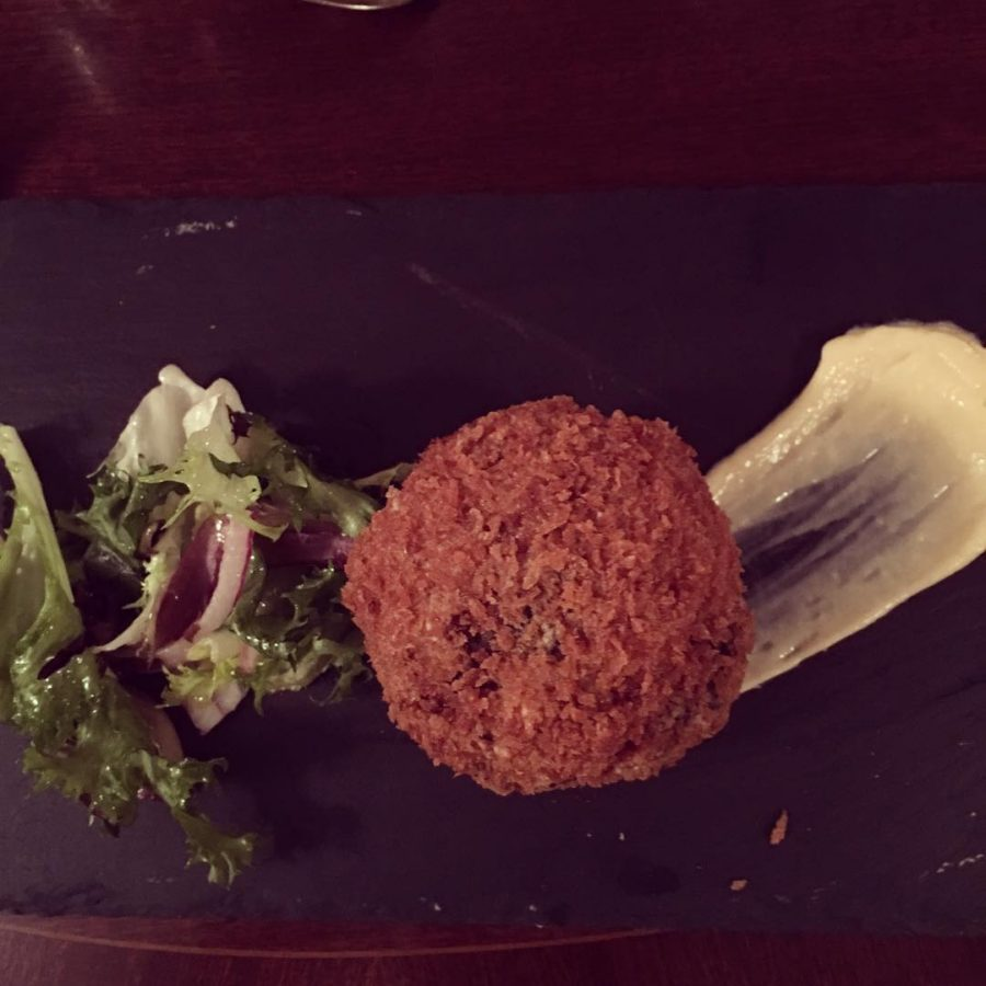 Yummy Scotch egg starter