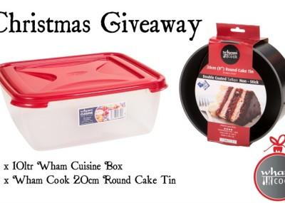 Wham Christmas Bake Giveaway
