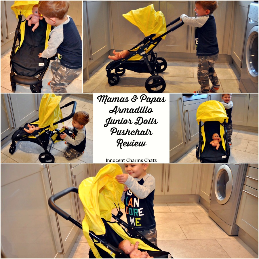 Mamas & Papas Armadillo Junior Dolls Pushchair Review