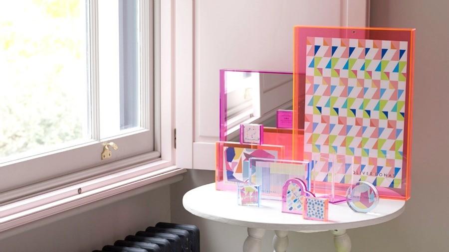 Oliver Bonas Neon Frames