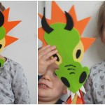 Crafts // Dragon Puppet With Bostik