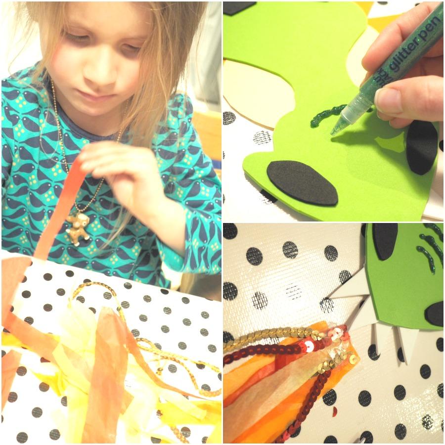 Dragon Puppet Making