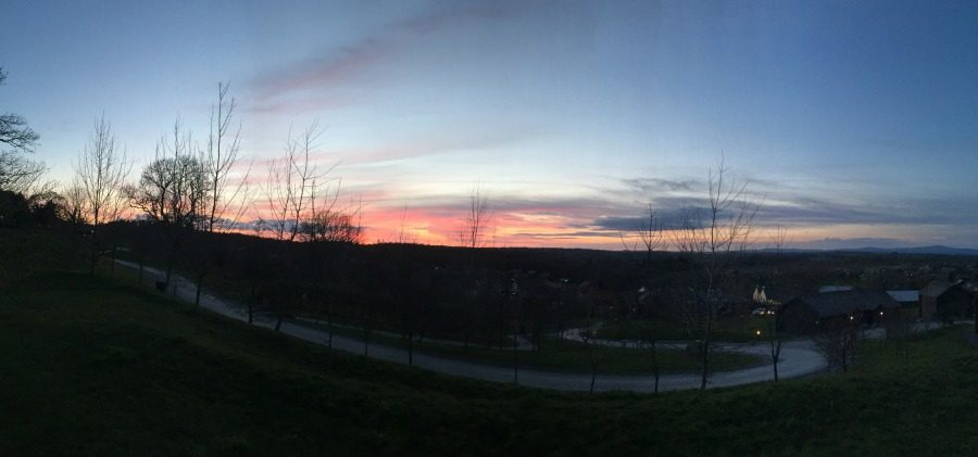 Bluestone allows for seeing the most beautiful Sunsets