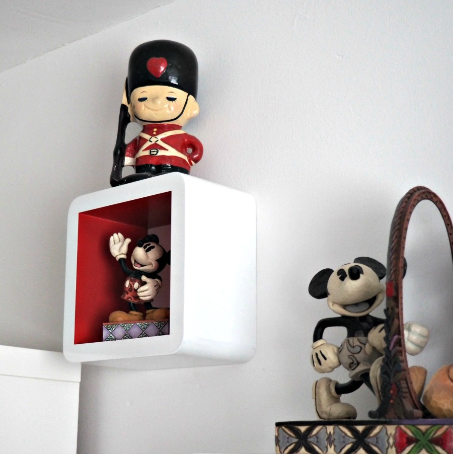 The little toy soldier money box was Ashley's as a child
