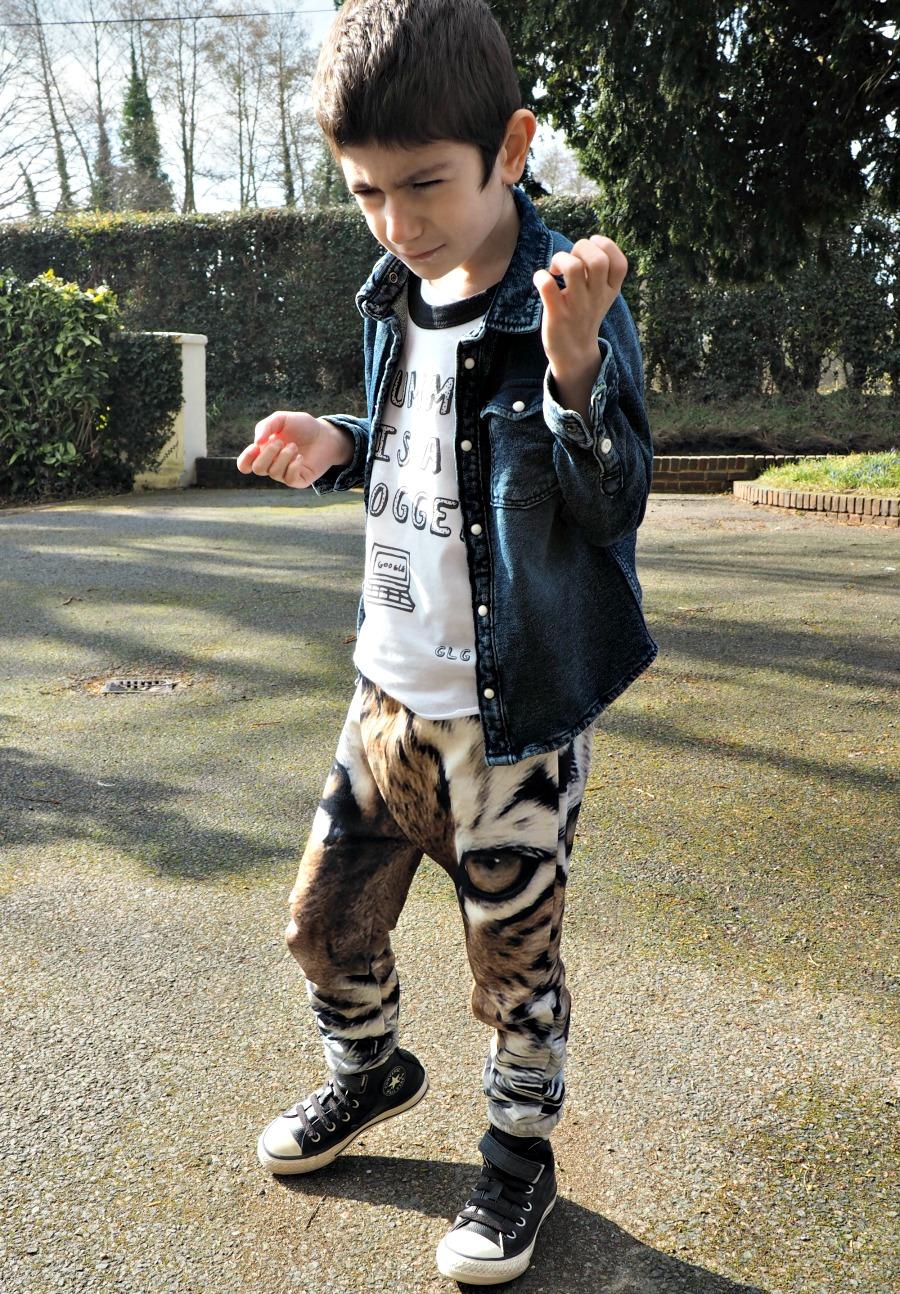 Boyswear Fashion, Tiger Trousers