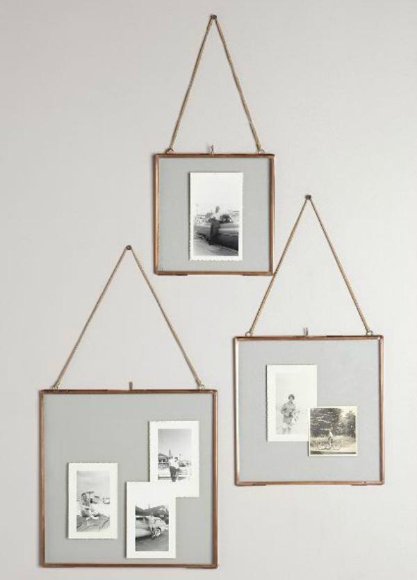 Copper Hanging Frames
