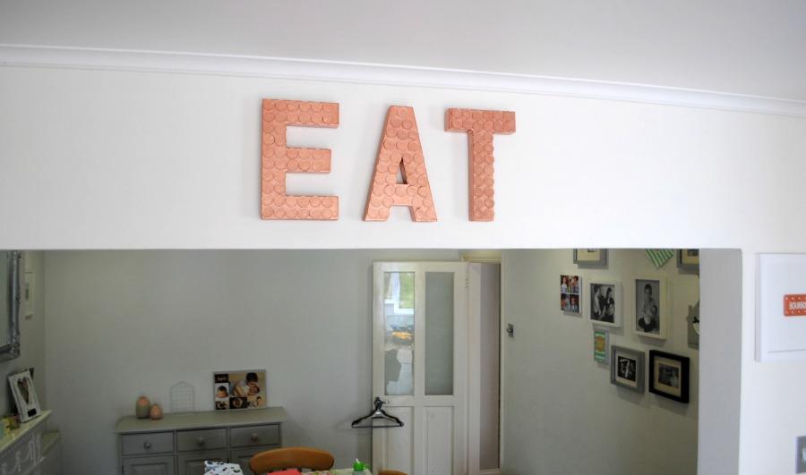 DIY Copper Sign