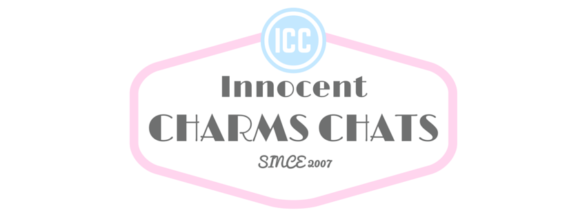 Innocent Charms Chats - Blog about the life of the Innocent Charms Chats Family