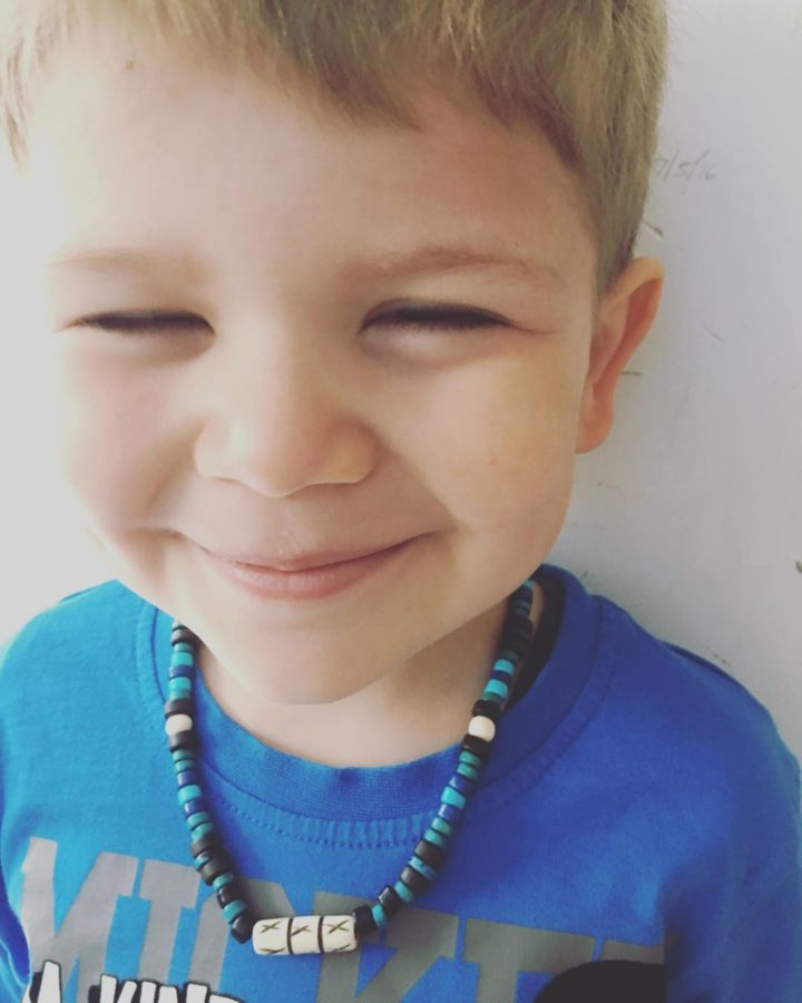 This boy has been asking for a necklace since Ihellip